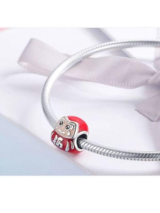 Maja 925 silver cute Dharma charm
