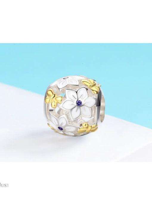 Maja 925 silver flower charm