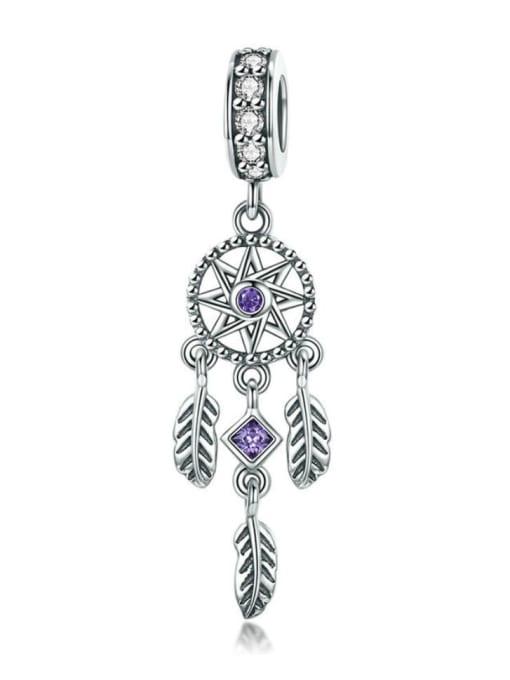 Maja 925 silver artificial zircon charm