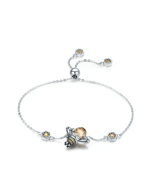 One Next 925 Silver Bee Element Bracelet