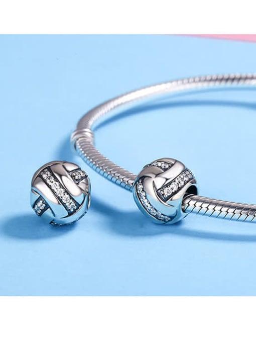 Maja 925 silver football charm