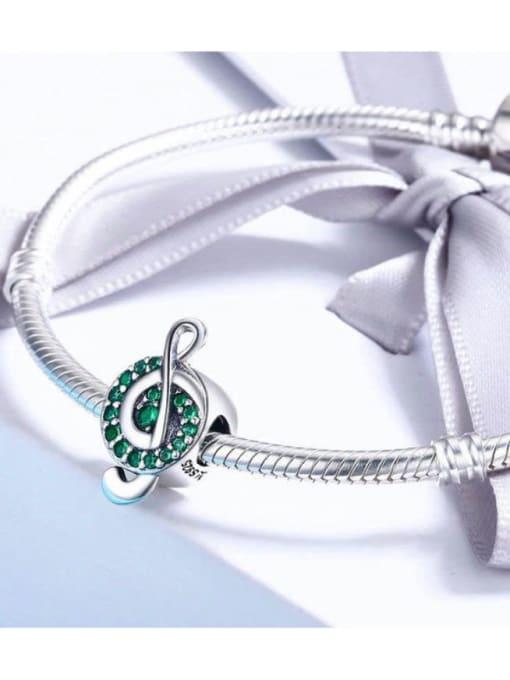 Maja 925 silver cute music symbol charm