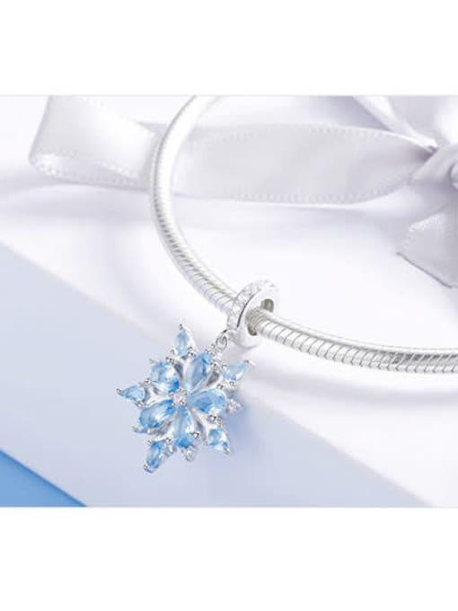 Maja 925 silver romantic snowflake charm