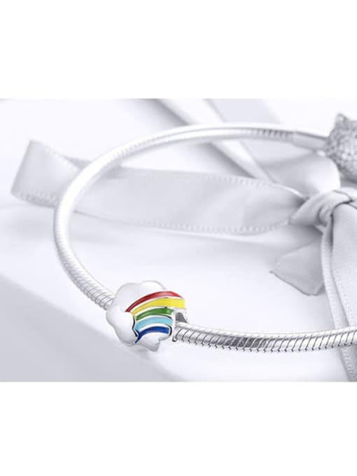 Maja 925 silver rainbow charm