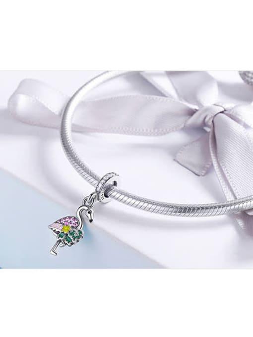 Maja 925 silver cute swan charm