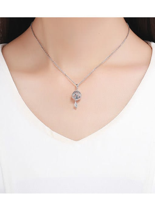 Maja 925 Silver Eternal Flower charm