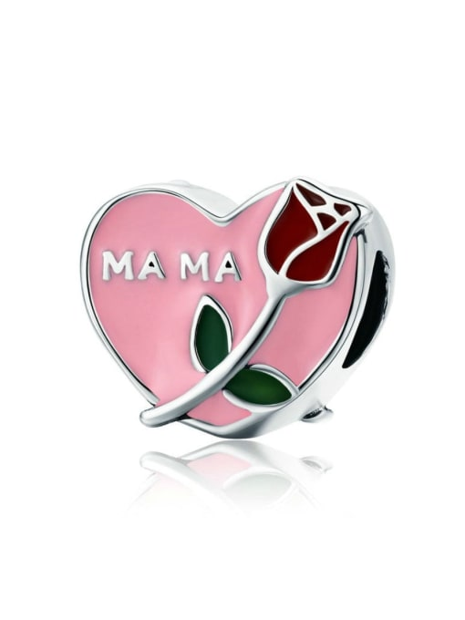 Maja 925 silver rose charm