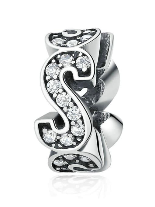 Maja 925 silver letter charm