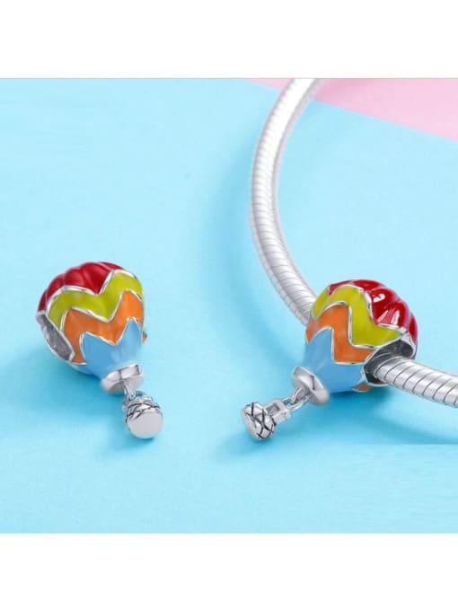 Maja 925 silver cute hot air balloon charm