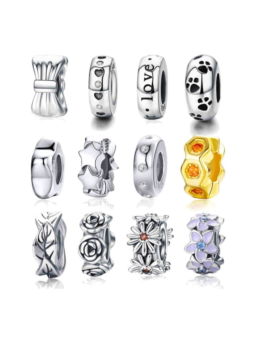 Maja 925 Sterling Silver With Antique Silver Plated Jewelry Findings