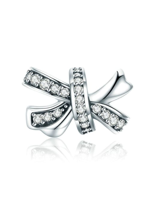 Maja 925 silver cute bow element accessories
