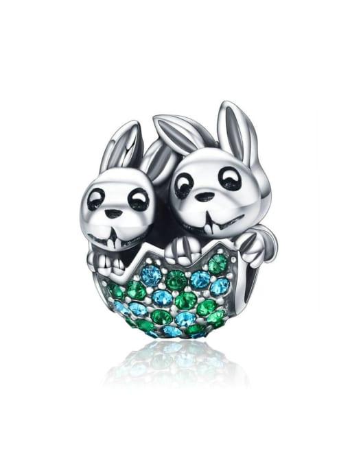 Maja 925 Silver Easter Bunny charm
