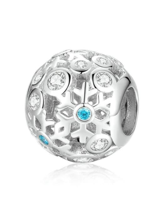 Maja 925 silver snowflake element accessories