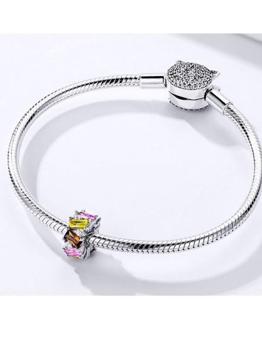 Maja 925 silver Cubic Zirconia charm