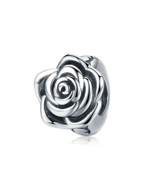 Maja 925 silver romantic flower charm