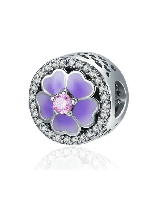 Maja 925 silver cute flower element accessories