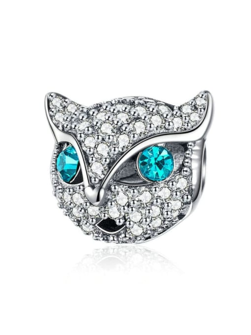 Maja 925 silver cute cat charm