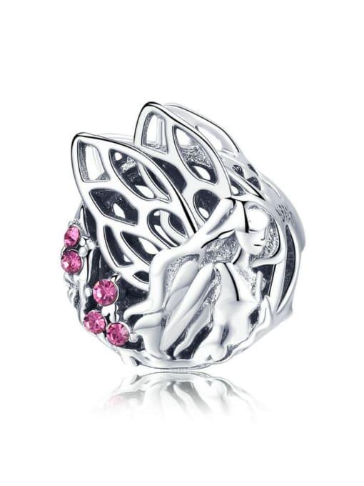 Maja 925 silver cute flower fairy charm