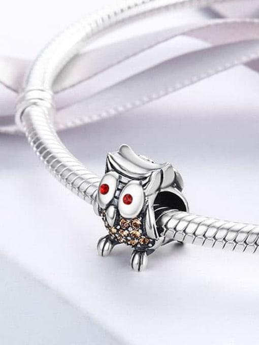 Maja 925 silver cute owl charm