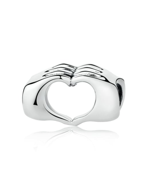 Maja 925 silver than heart charm