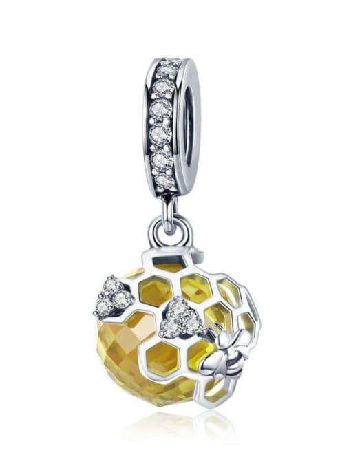 Maja 925 silver cute honeycomb charm