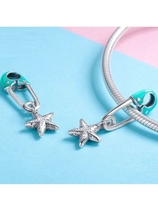 Maja 925 Silver Star Button charm