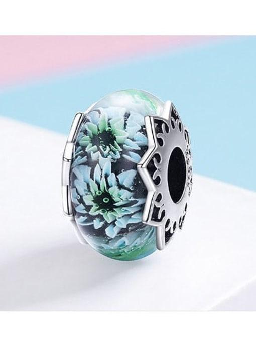 Maja 925 silver chrysanthemum charm
