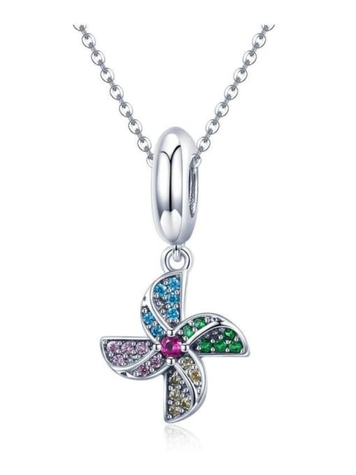 Maja 925 silver cute windmill charm
