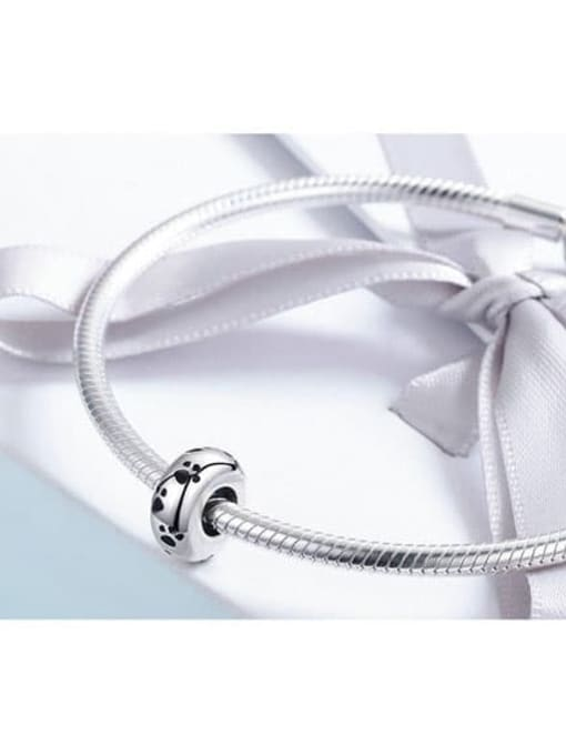 Maja 925 Sterling Silver With Antique Silver Plated Charm