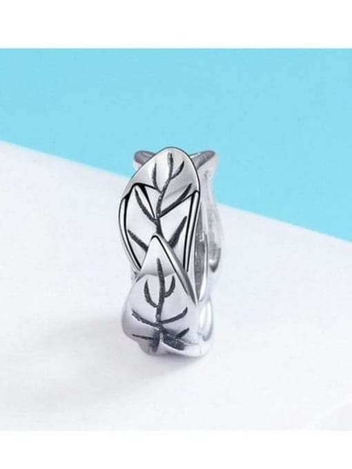 Maja 925 silver cute leaf charm