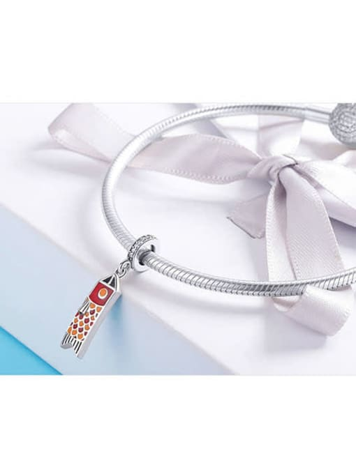 Maja 925 silver squid charm
