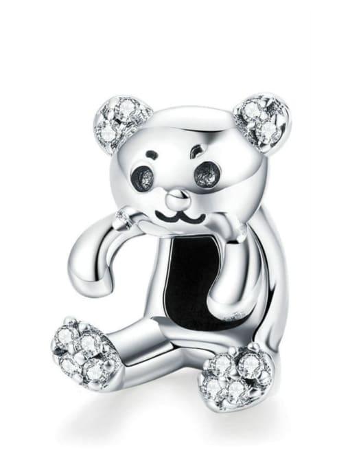 Maja 925 silver cute bear charm
