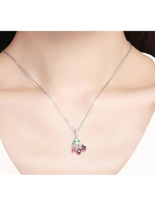 Maja 925 silver cute flower and fruit charm