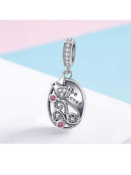 Maja 925 silver love bird charm