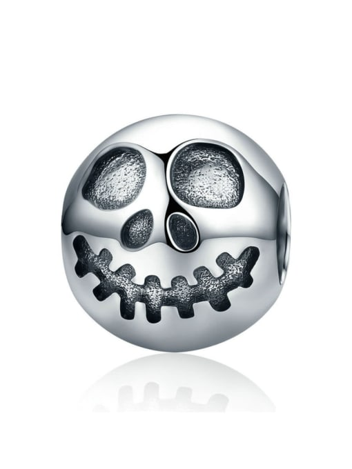 Maja 925 Silver Halloween Grimace Element Accessories