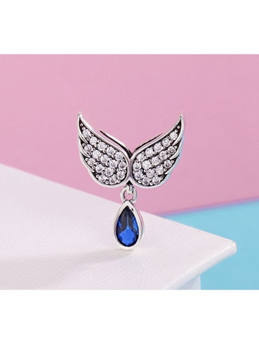 Maja 925 Silver Angel Wings charm