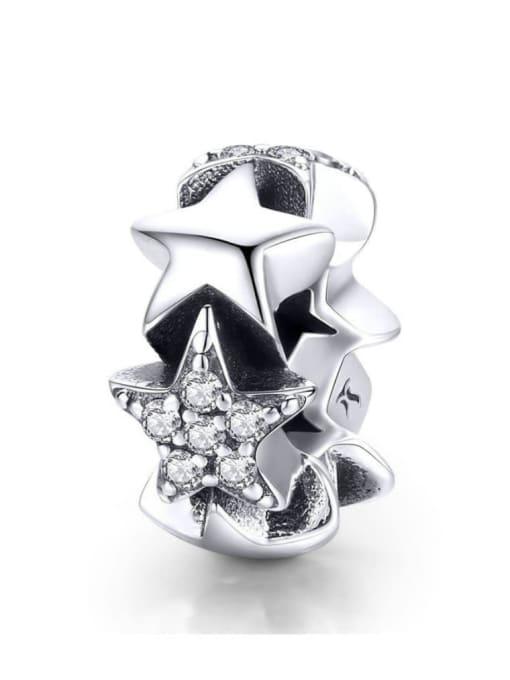 Maja 925 silver cute star charm