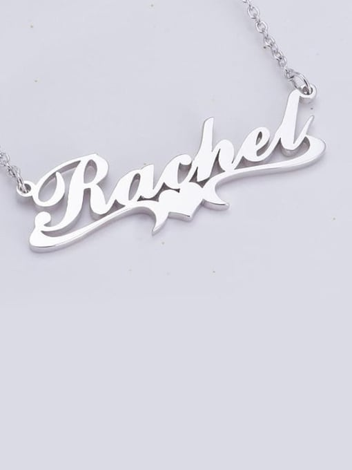 Lian Designs Rachel style Personalized Heart Name Necklace