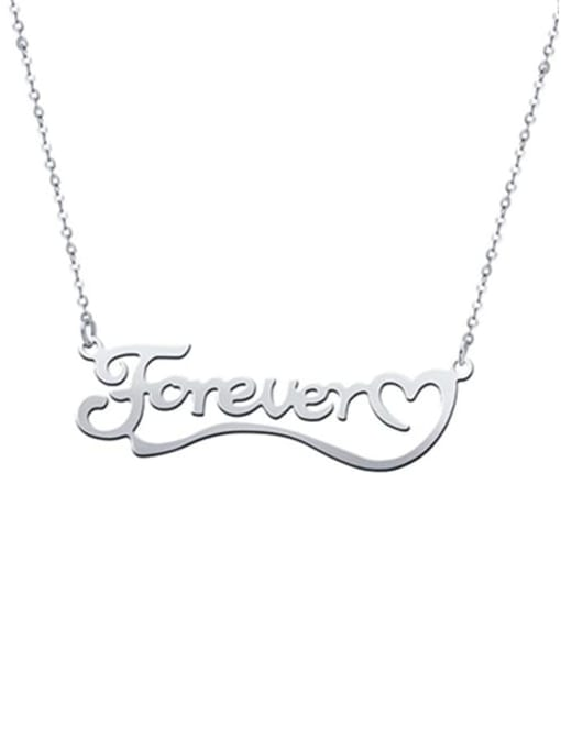 Lian Designs Love You Forever Personalized Classic Name silver
