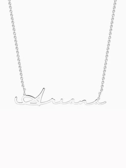 Lian Designs Customized Signature Style Name Necklace