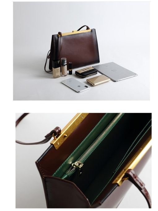 In Mix Vintage And Versatile Briefcase, Multi-Color Optional, Handbag/Shoulderbag