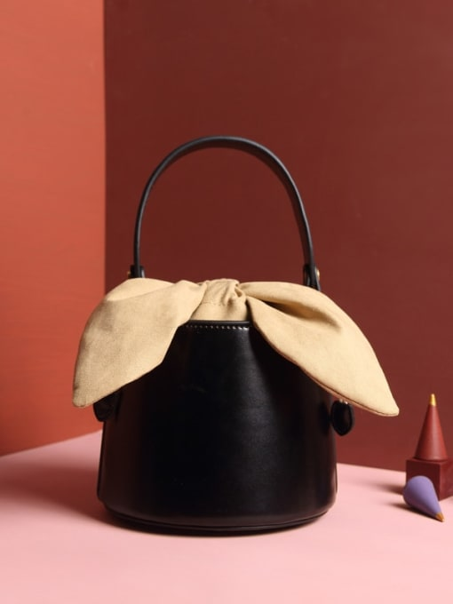 In Mix Cute bow Bucket bag/Shoulder Bag