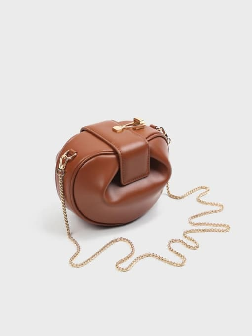 In Mix Wonton shape CrossBody Bag