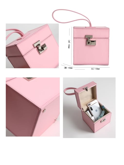 In Mix Square box Mini-Handle Bag