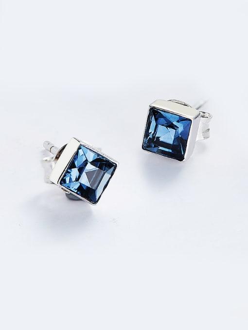 Maja S925 Silver Square Shaped stud Earring