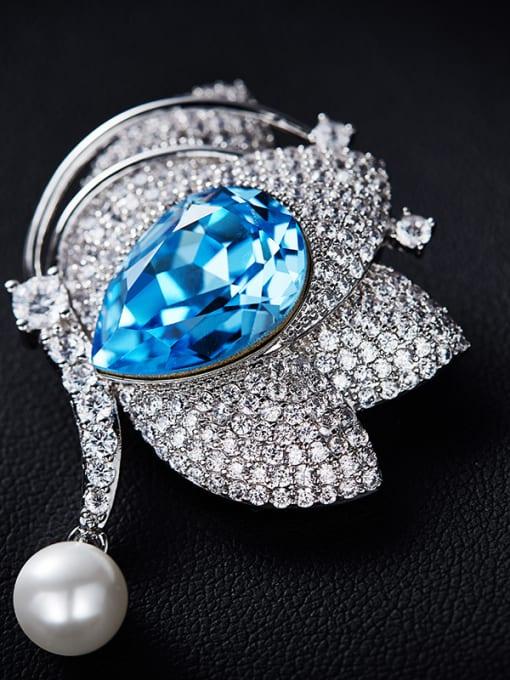 Maja 2018 2018 Swarovski Crystal Pearl Brooch