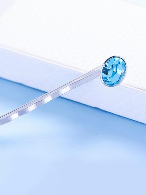 Maja Blue Swarovski Crystal Hairpin