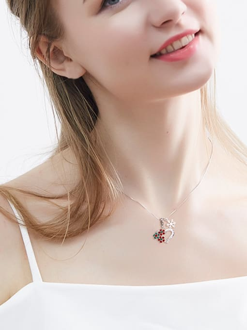 Maja 2018 2018 2018 Heart-shaped Crystal Necklace