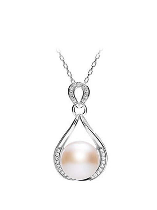 Evita Peroni Freshwater Pearl Water Drop shaped Necklace