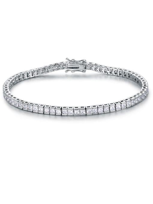 Chris Square Zircon Bracelet